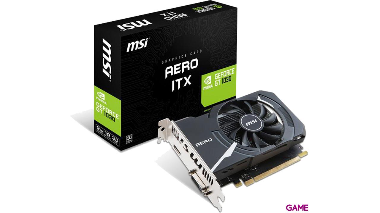 MSI GeForce GT 1030 Aero ITX 2GB OC GDDR5