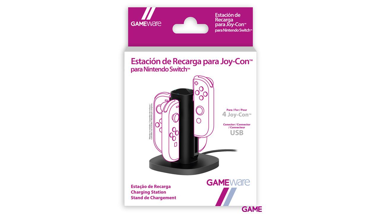Estación de recarga para Joy-Con GAMEware