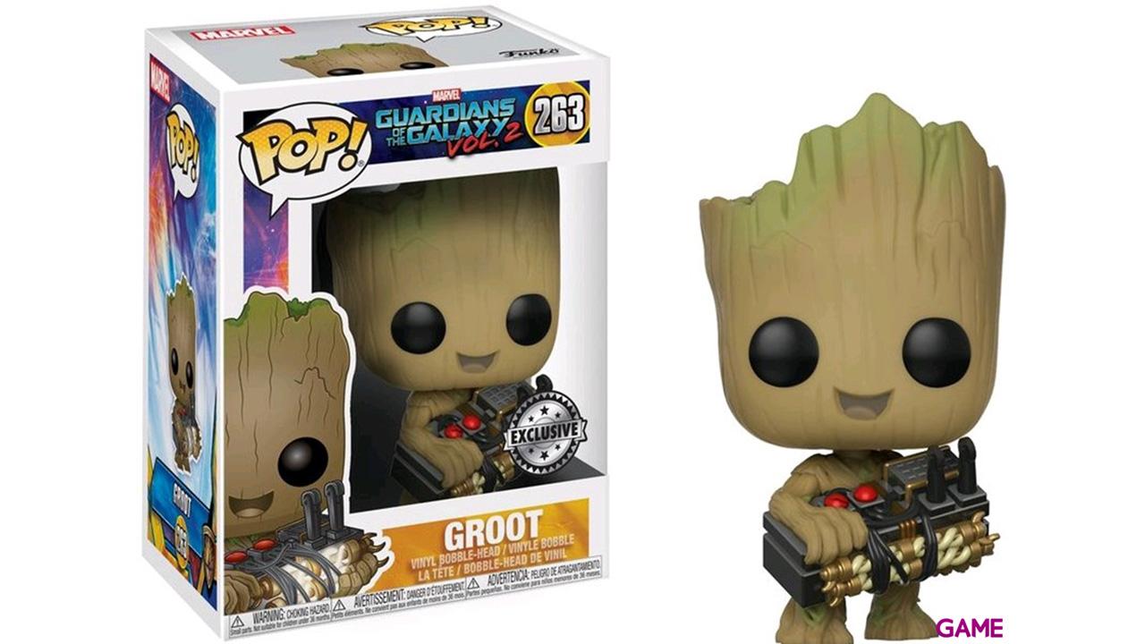 Figura Pop Guardianes de la Galaxia 2: Groot Ed. Limitada