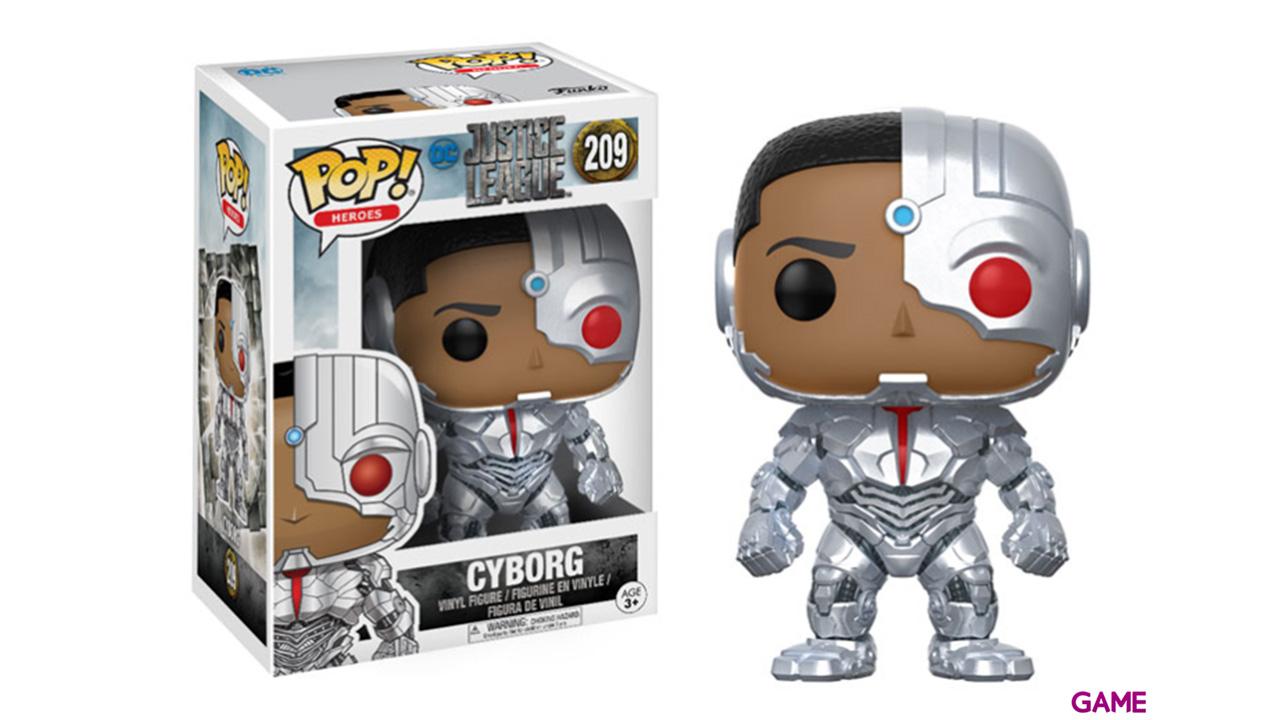 Figura Pop Justice League: Cyborg