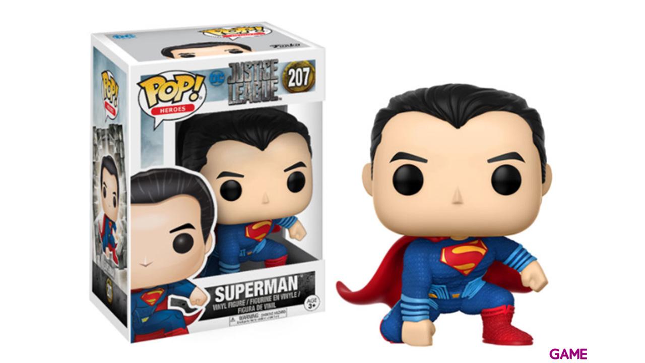 Figura Pop Justice League: Super Man