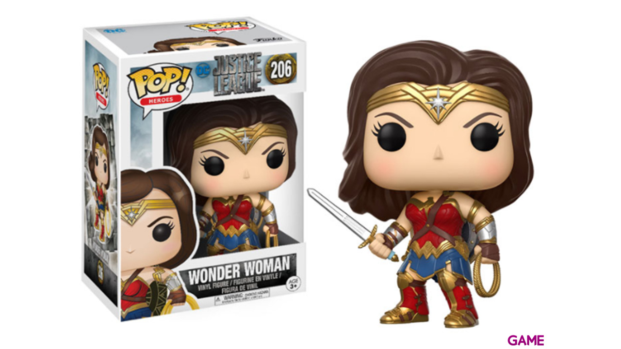 Figura Pop Justice League: Wonder Woman