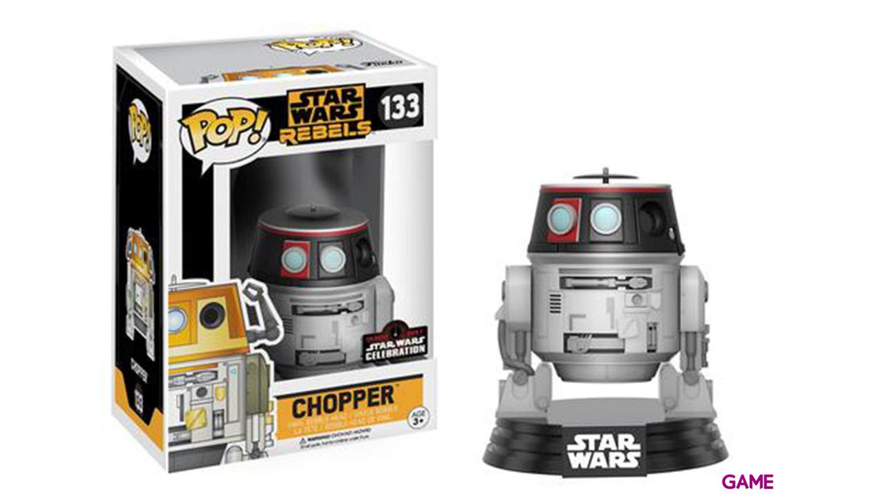 Figura Pop Star Wars Celebration: Chopper SWC