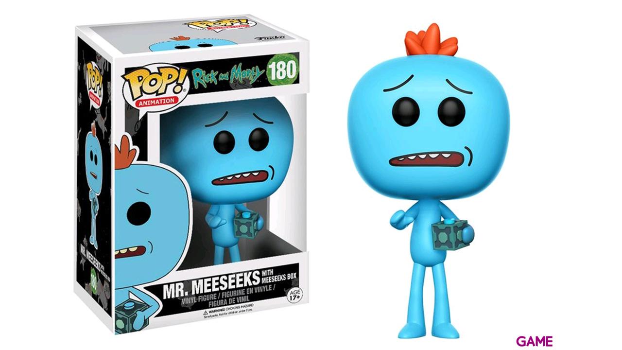 Figura Pop Rick y Morty: Mr. Meeseeks Ed. Limitada