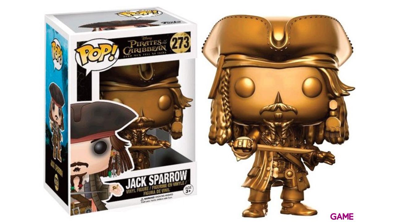Figura Pop Piratas del Caribe: Jack Sparrow Gold Ed. Limitada