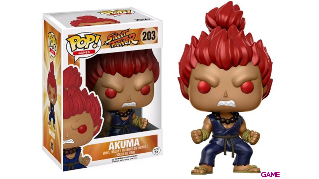 Figura Pop Street Fighter: Akuma Ed. Limitada