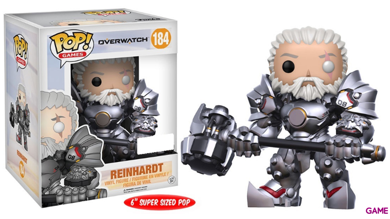 Figura Pop Overwatch: Reinhardt Edi. Limitada