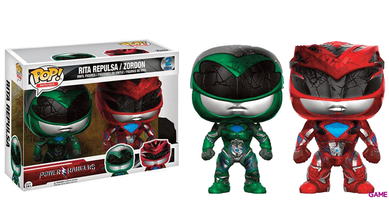 Pack Figuras Pop Power Rangers: Rita y Zordon