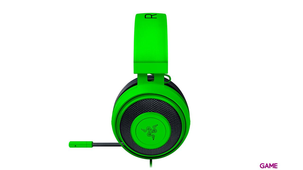 Razer Kraken Pro V2 Oval Verde