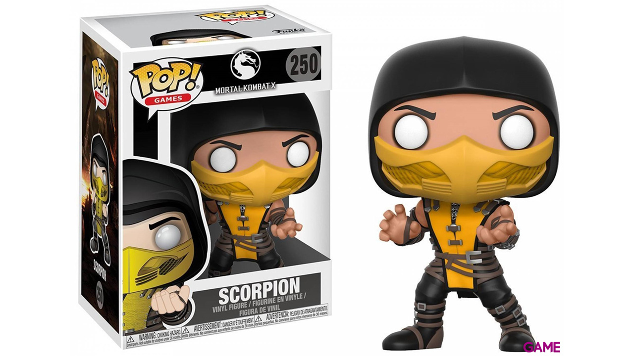 Figura Pop Mortal Kombat: Scorpion
