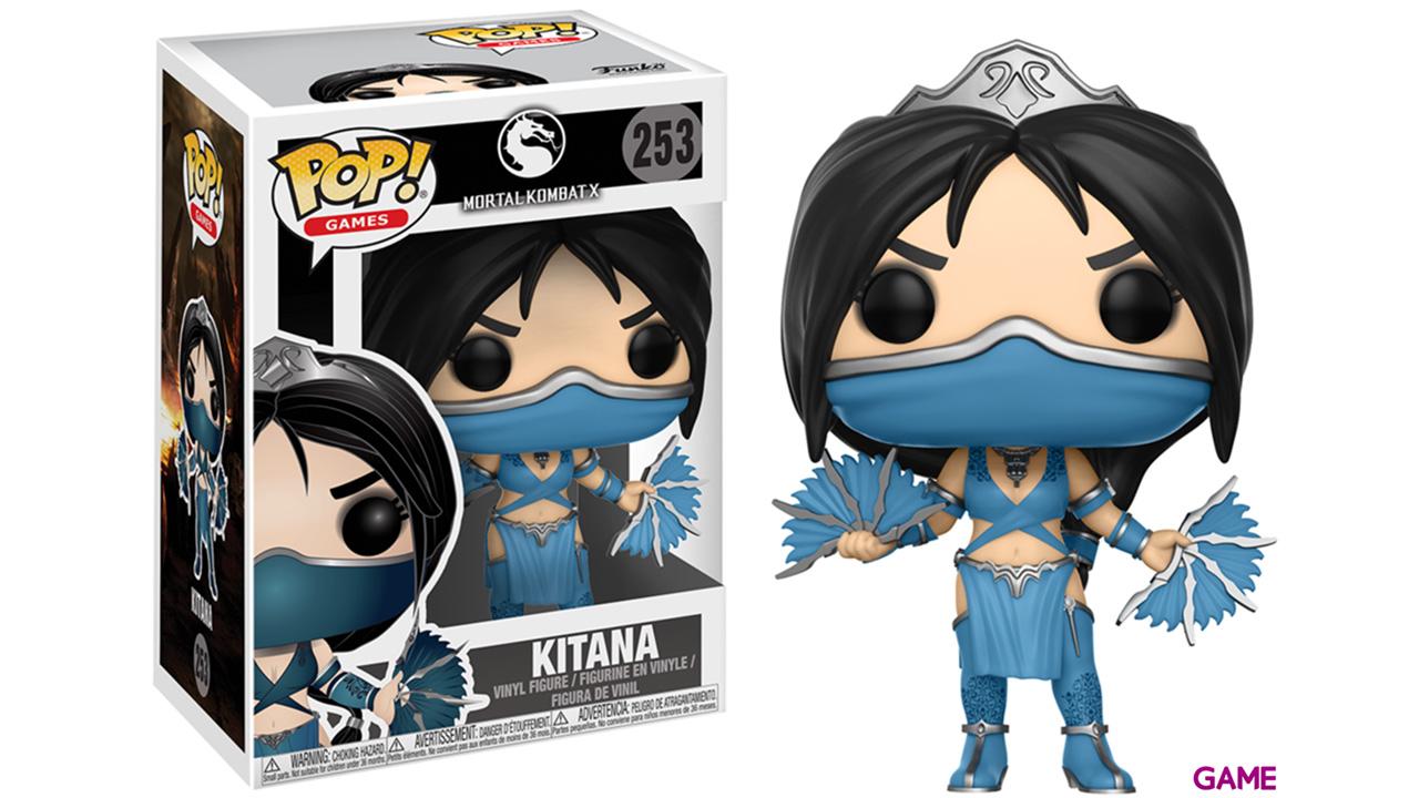 Figura Pop Mortal Kombat: Kitana
