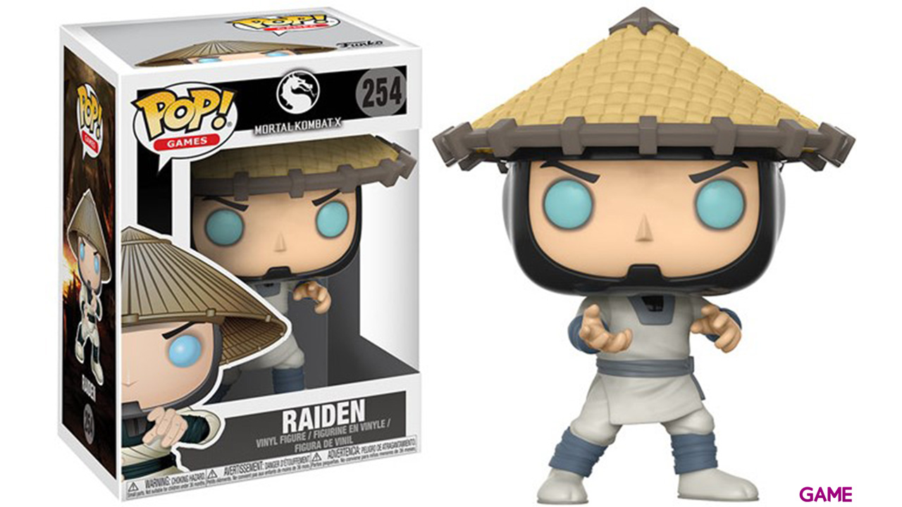 Figura Pop Mortal Kombat: Raiden
