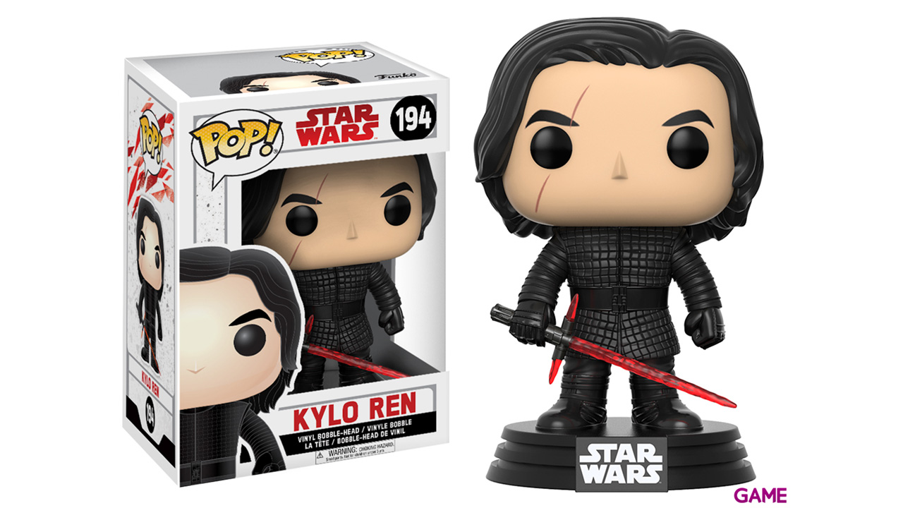 Figura Pop Star Wars VIII: Kylo Ren