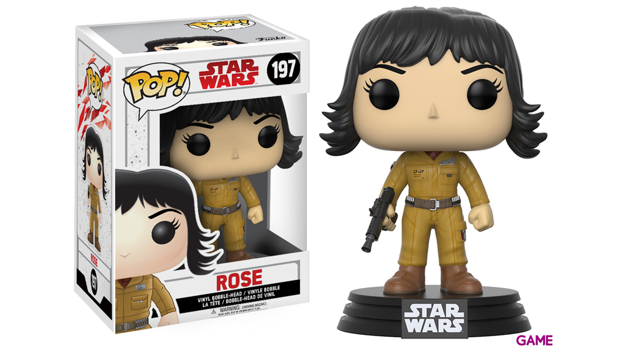 Figura Pop Star Wars VIII: Rose