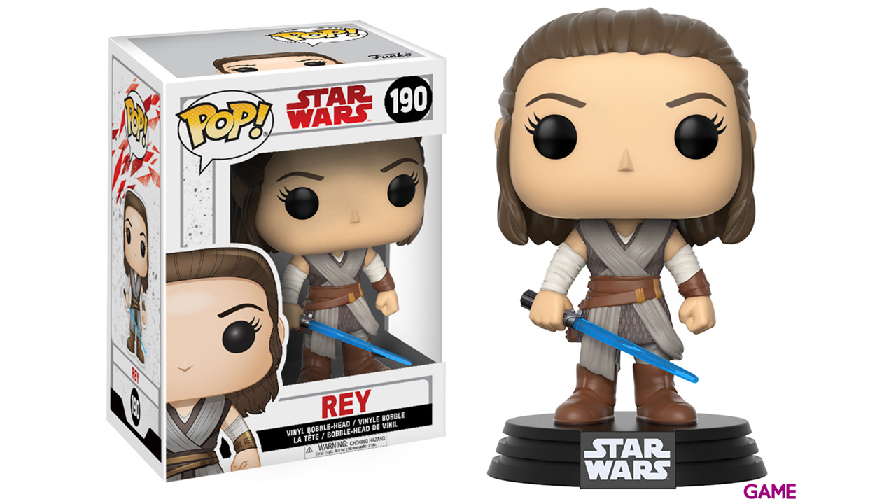 Figura Pop Star Wars VIII: Rey