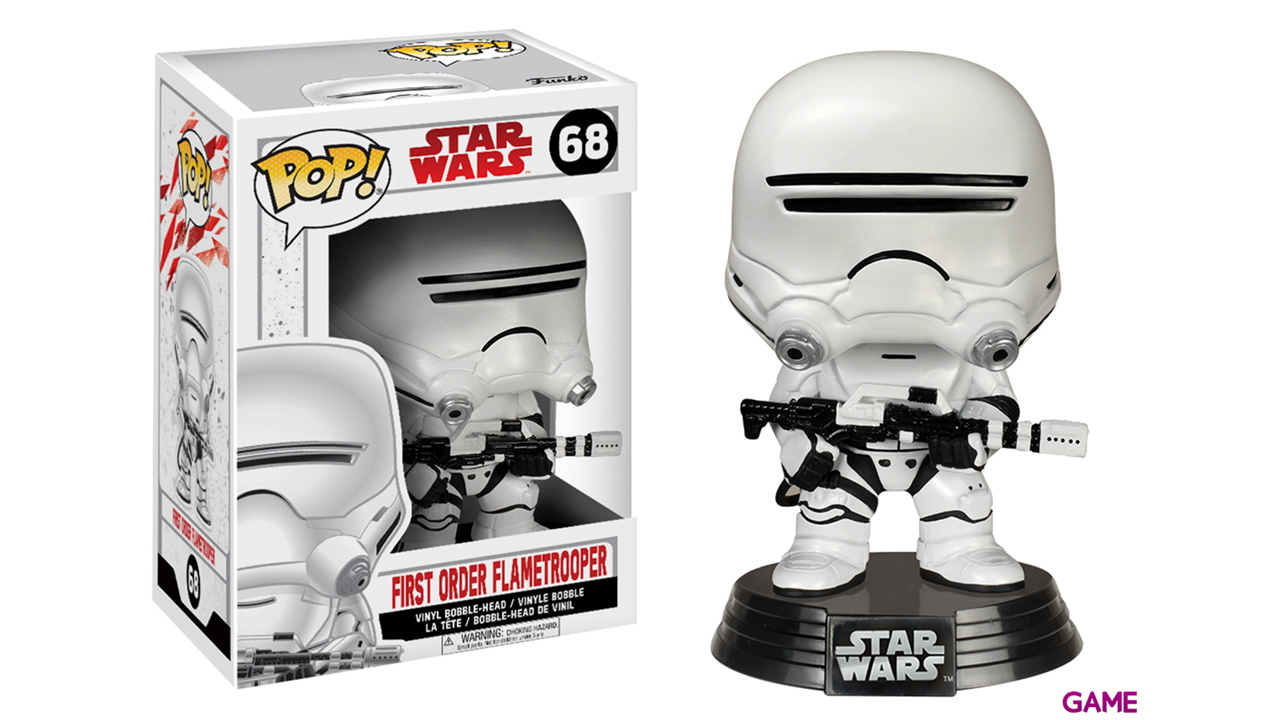 Figura Pop Star Wars VIII: First Order Flametrooper