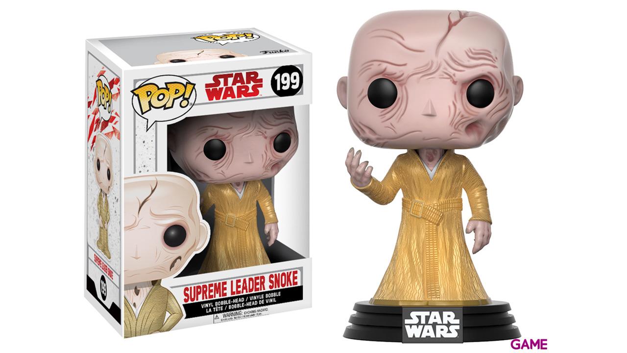 Figura Pop Star Wars VIII: Lider Supremo Snoke