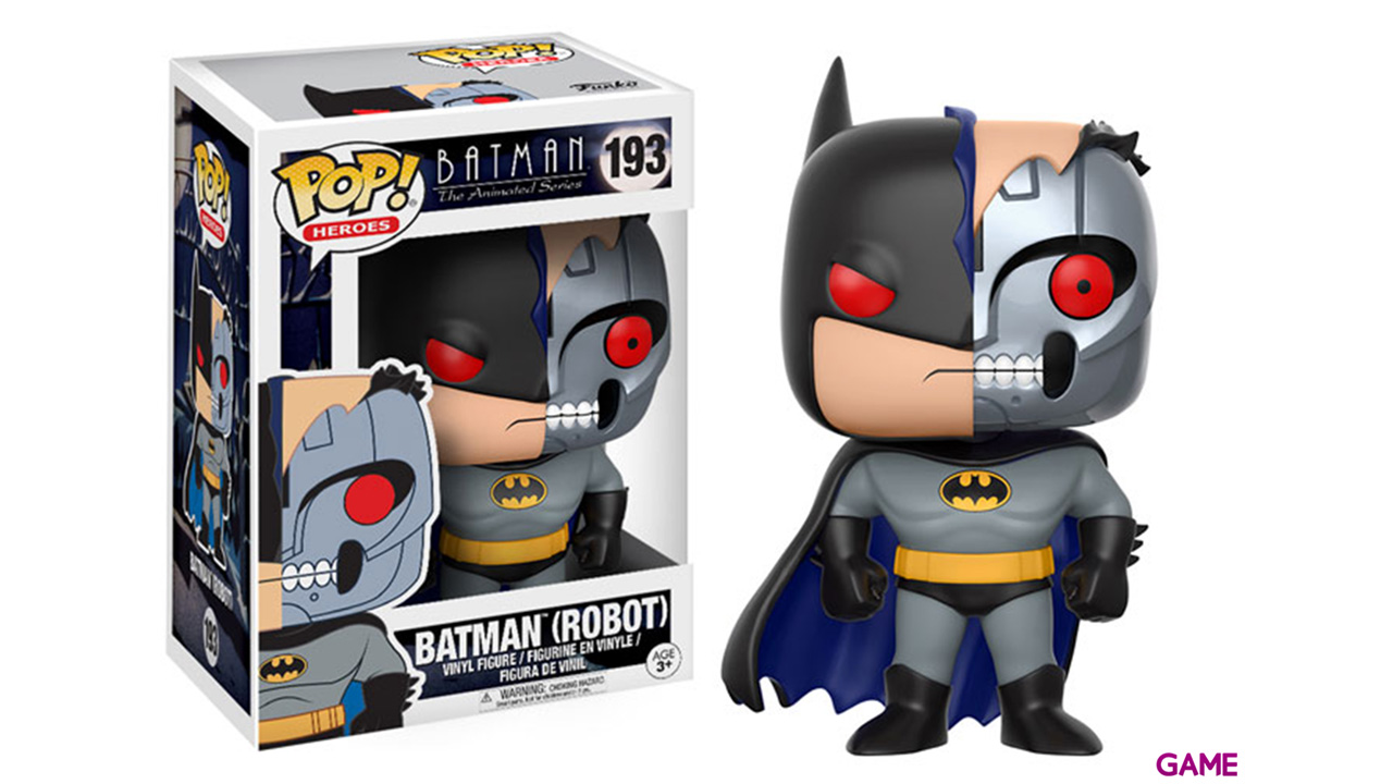 Figura Pop Batman Animated: Robot Batman