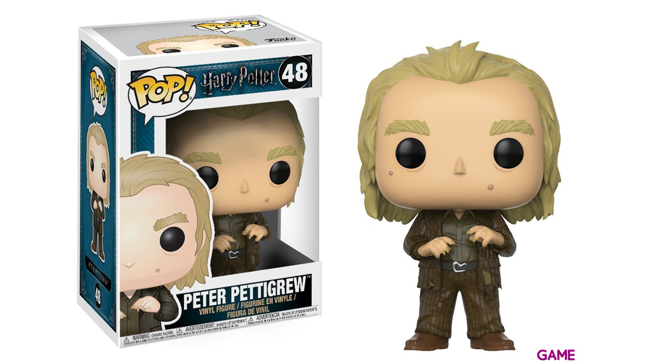 Figura Pop Harry Potter: Peter Pettigrew