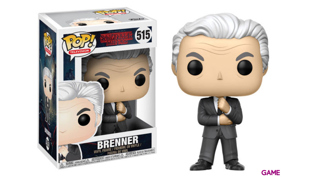 Figura Pop Stranger Things: Brenner