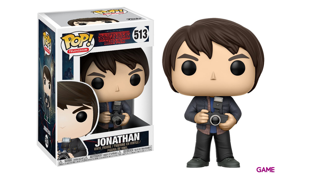 Figura Pop Stranger Things: Jonathan con Camara