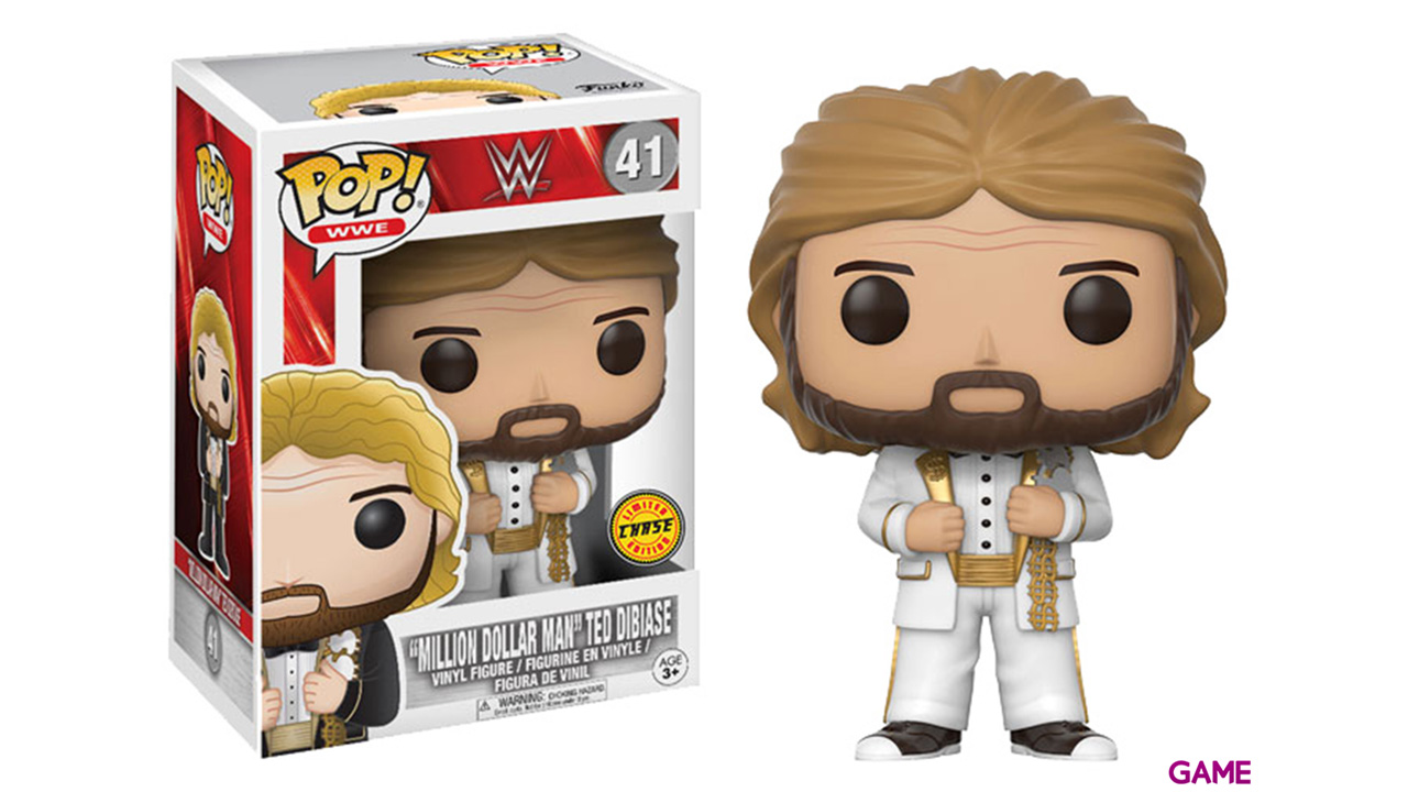 Figura Pop WWE: Million Dollar Man Old School