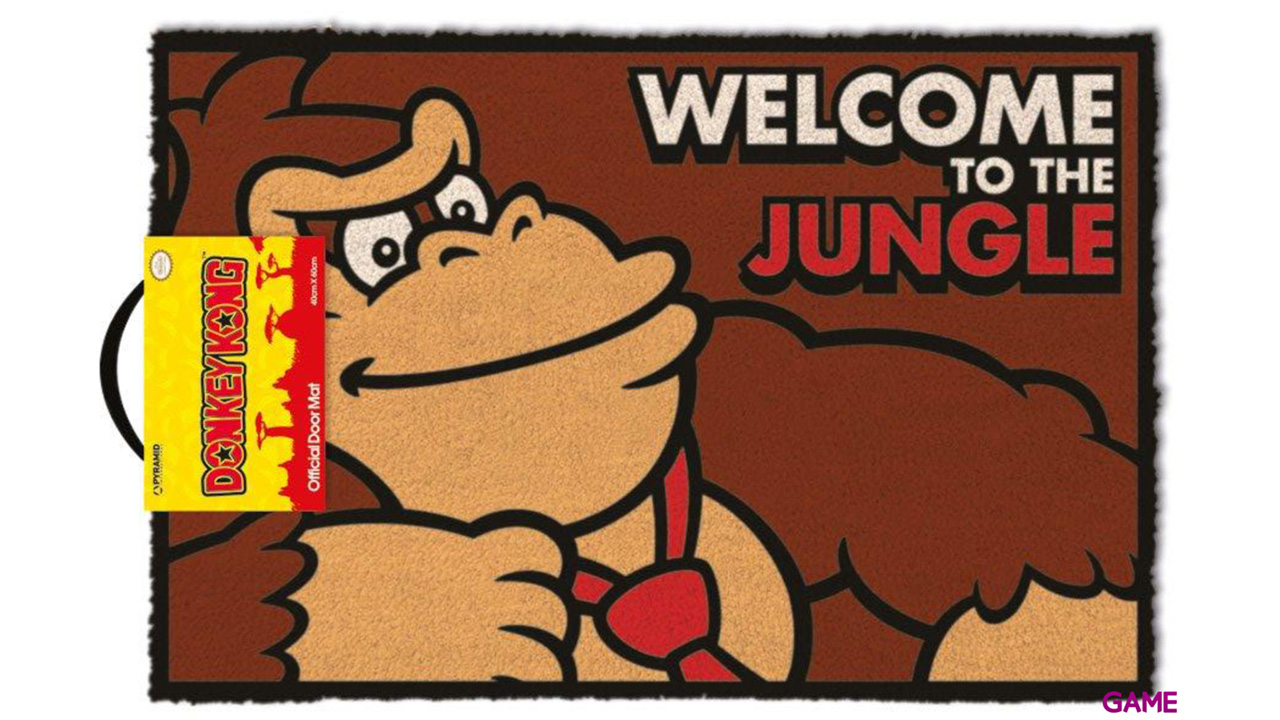 Felpudo Donkey Kong: Welcome to the Jungle