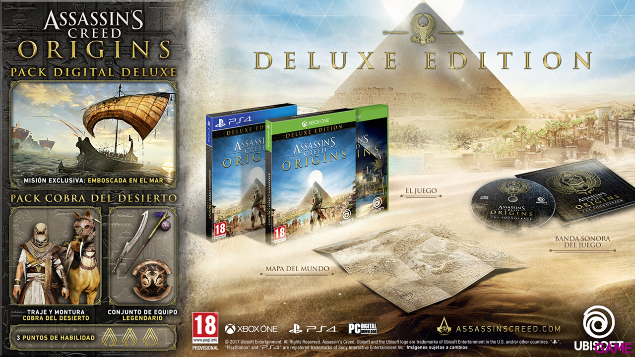 Assassin´s Creed Origins Deluxe Edition