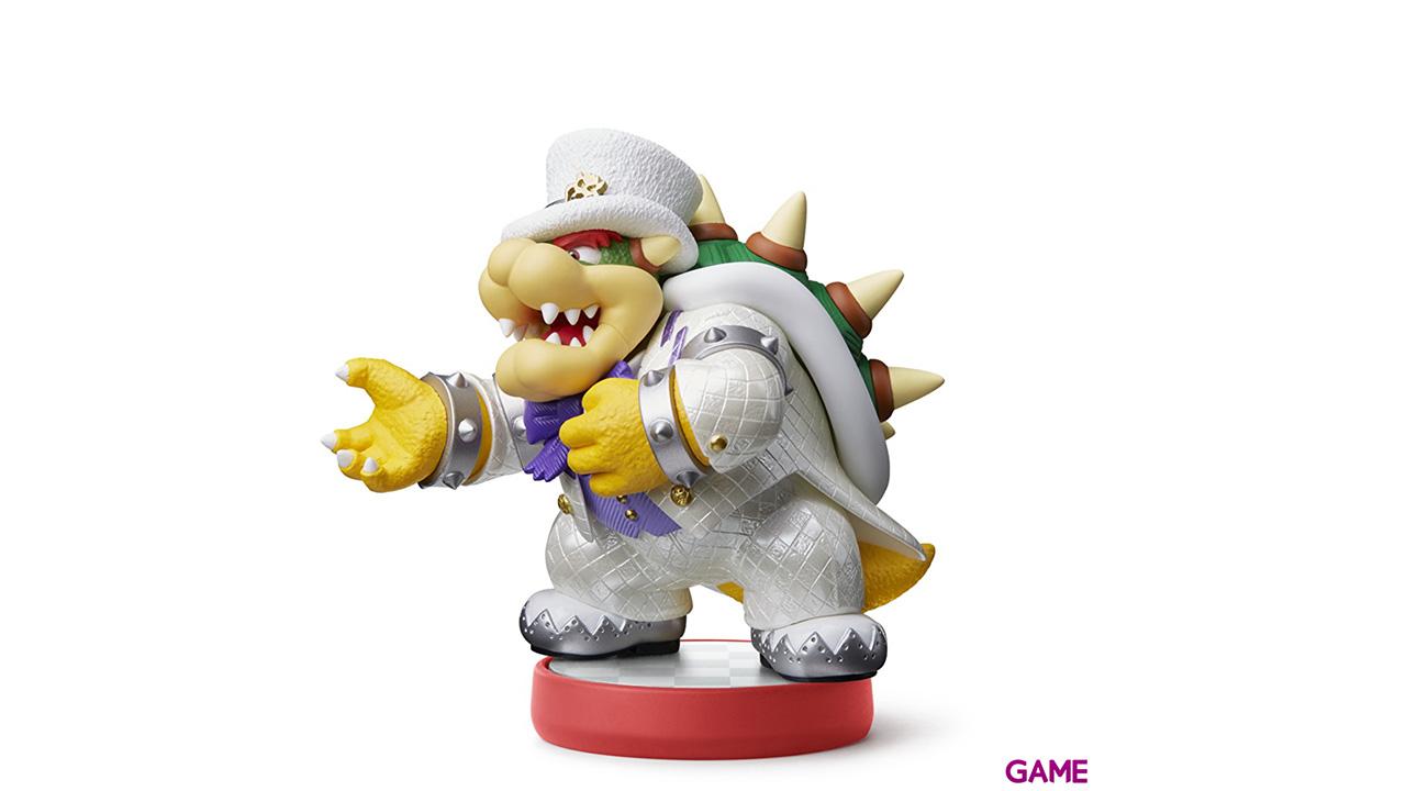 Figura Amiibo Bowser - Mario Odyssey