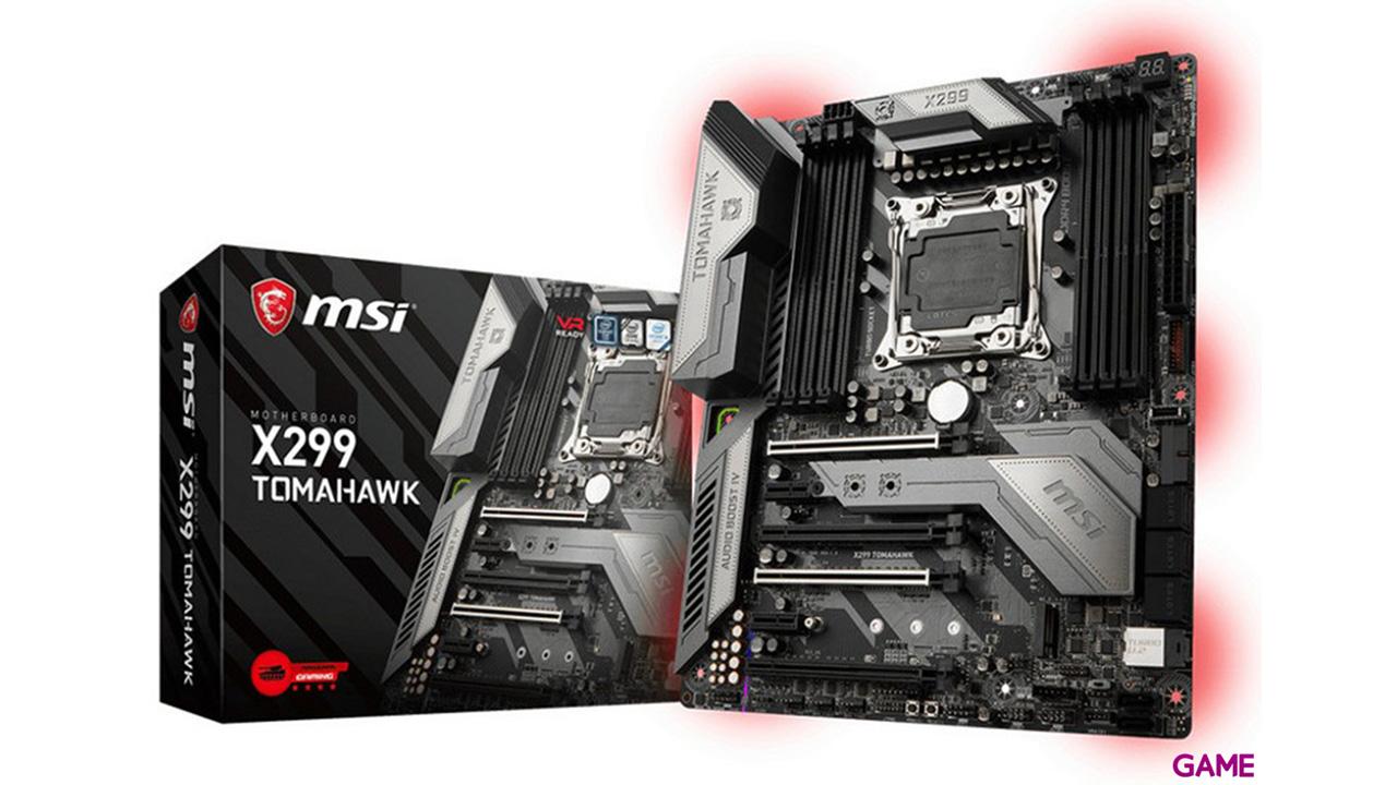 MSI X299 Tomahawk LGA2066 ATX