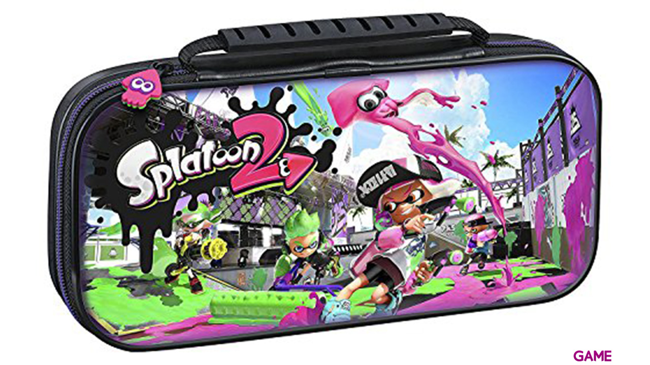Game Traveller Deluxe Travel Case NNS51 Splatoon2 -Licencia oficial-