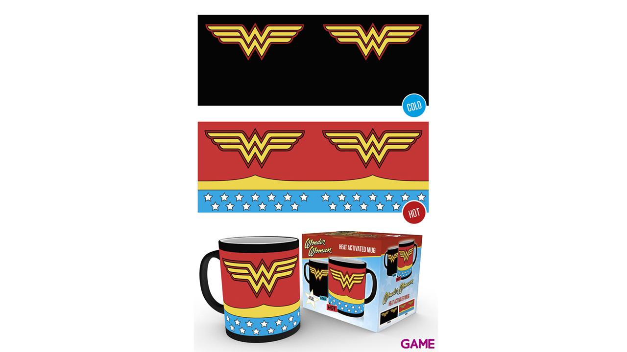 Taza Térmica Wonderwoman