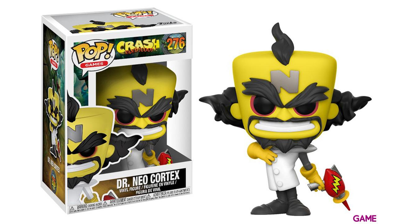 Figura Pop Crash Bandicoot: Neo Cortex
