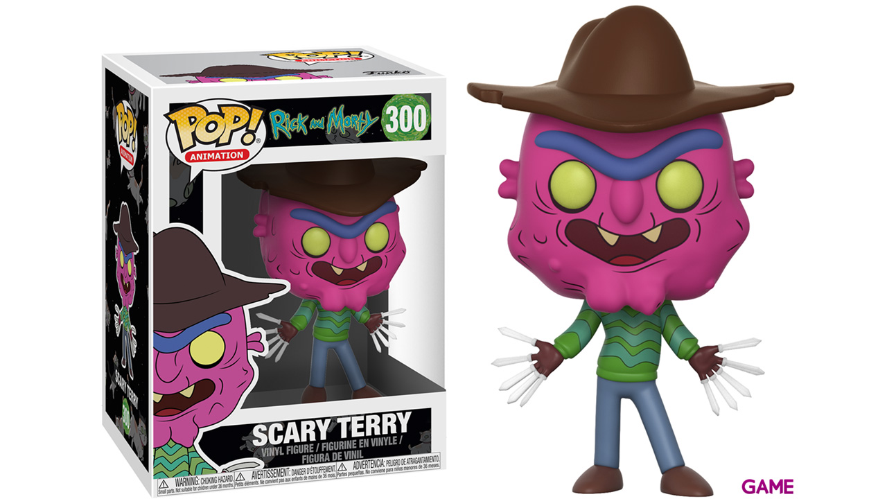 Figura Pop Rick y Morty S3: Scary Terry
