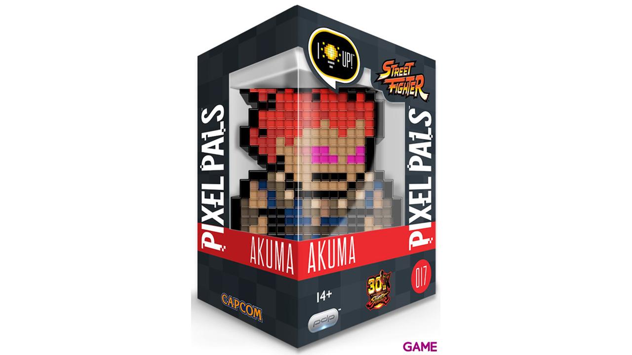 Figura Pixel Pals: Street Fighter Akuma