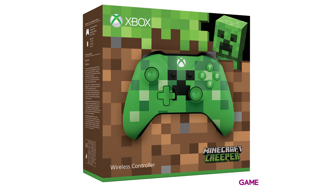 Controller Inalámbrico Minecraft Creeper