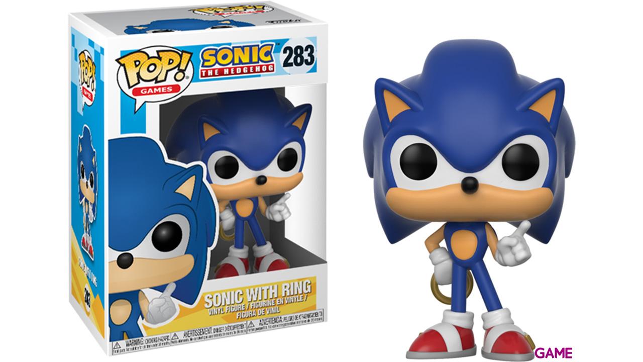 Figura Pop Sonic: Sonic con Anillo