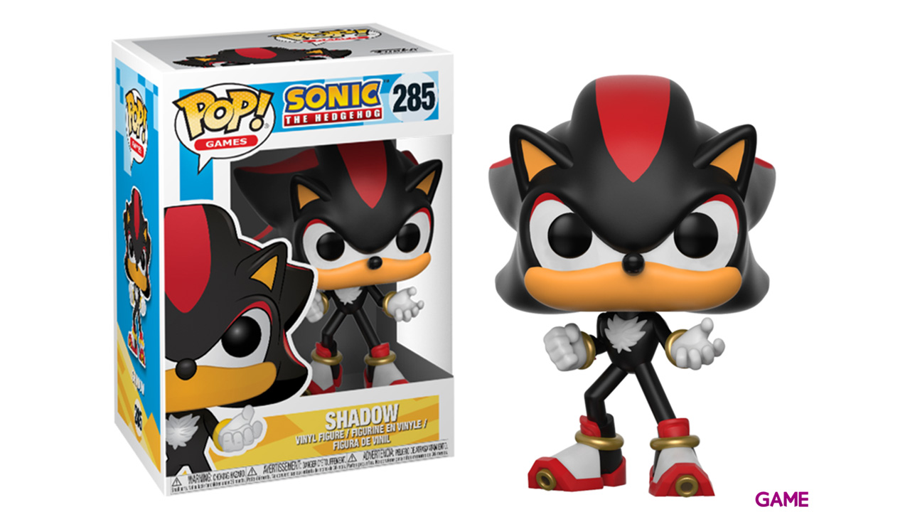 Figura Pop Sonic: Shadow