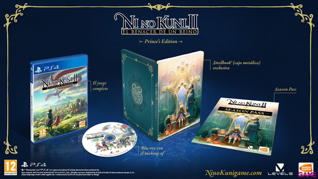 Ni No Kuni II: El Renacer de un Reino Prince's Edition