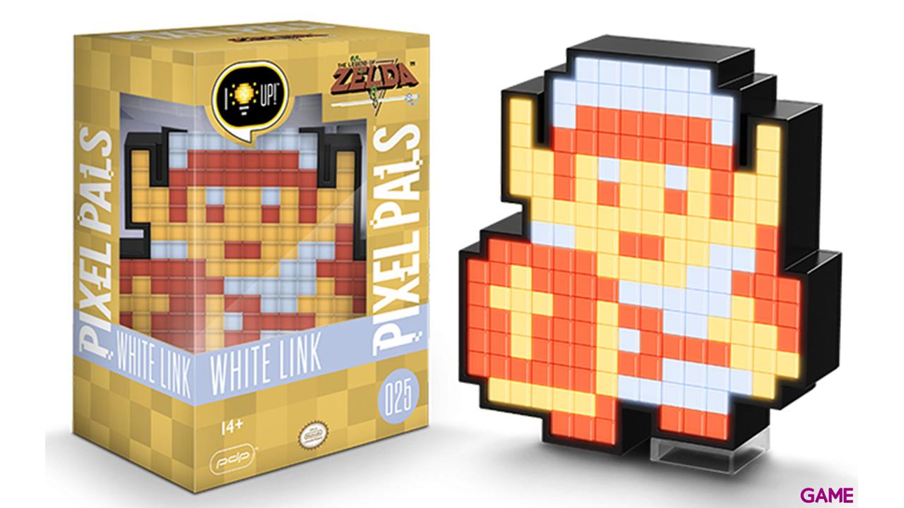 Figura Pixel Pals: Nintendo White 8-Bit Link