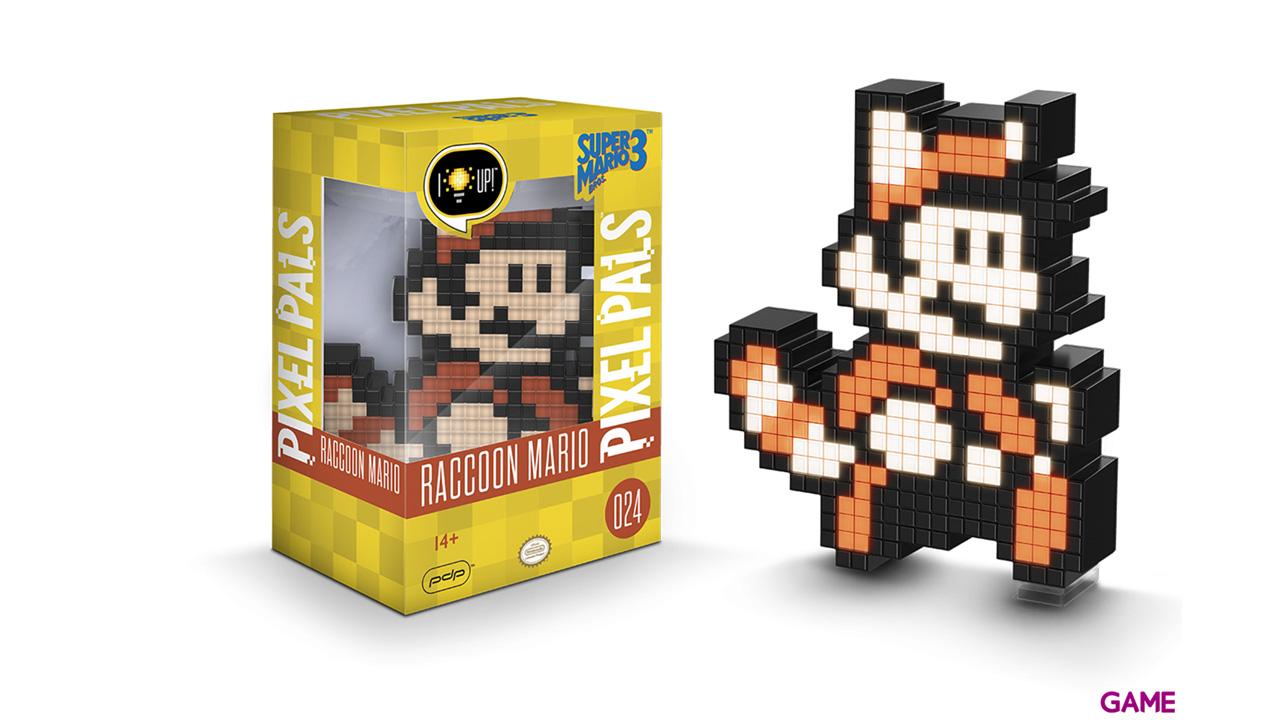 Figura Pixel Pals: Nintendo Raccoon Mario