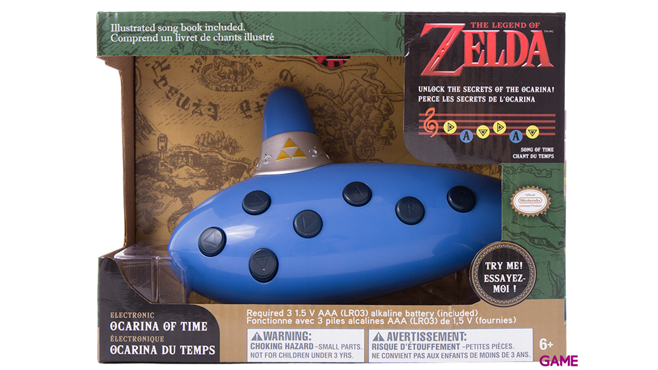 Ocarina Electrónica The Legend of Zelda