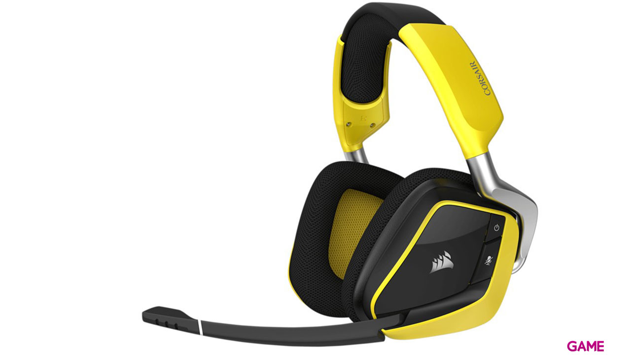Corsair Void Pro RGB Wireless Special Edition Dolby 7.1 Negro-Amarillo