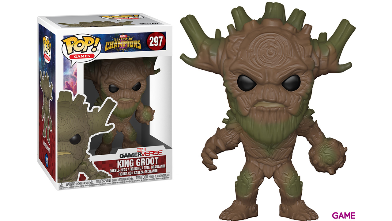 Figura Pop Contest of Champions: King Groot