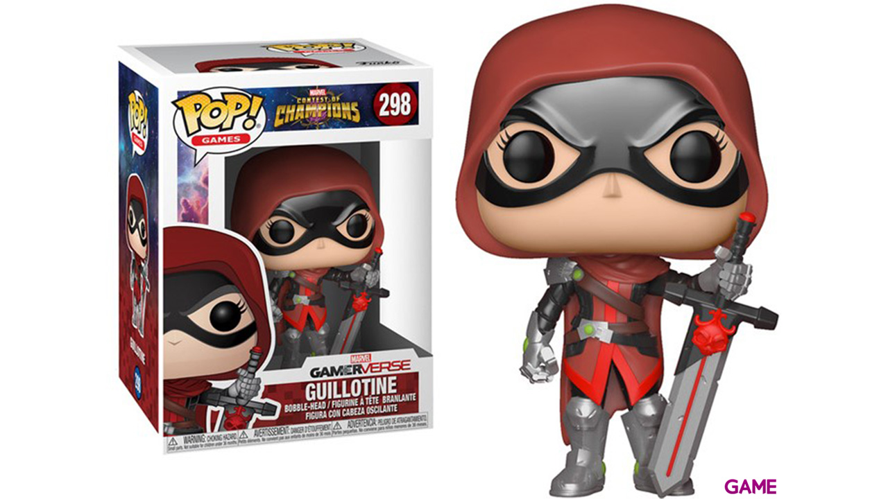 Figura Pop Contest of Champions: Guilotine