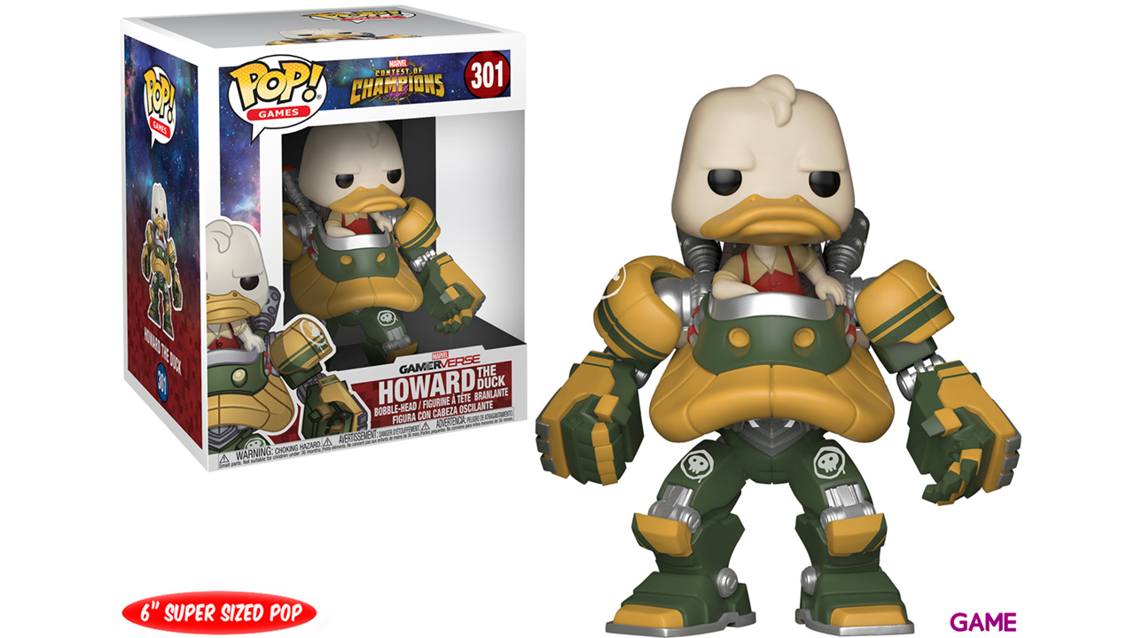 Figura Pop Contest of Champions: Howard the Duck