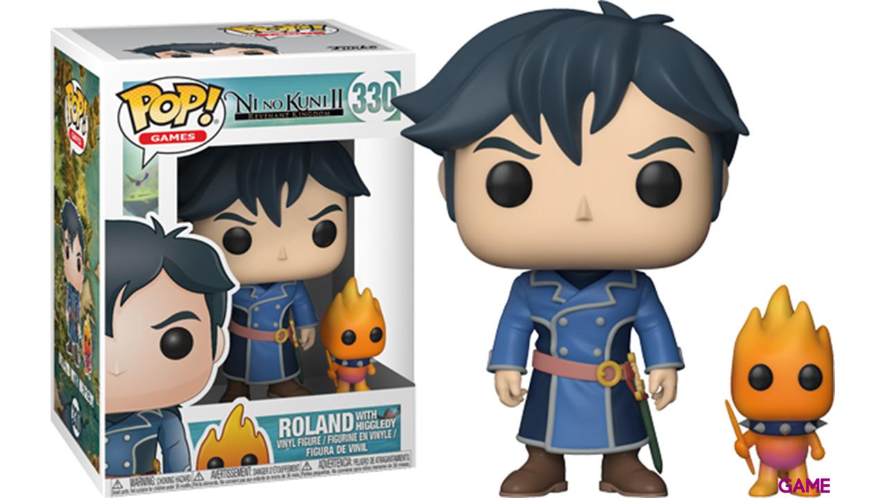 Figura Pop Ni No Kuni: Roland con Higgledies