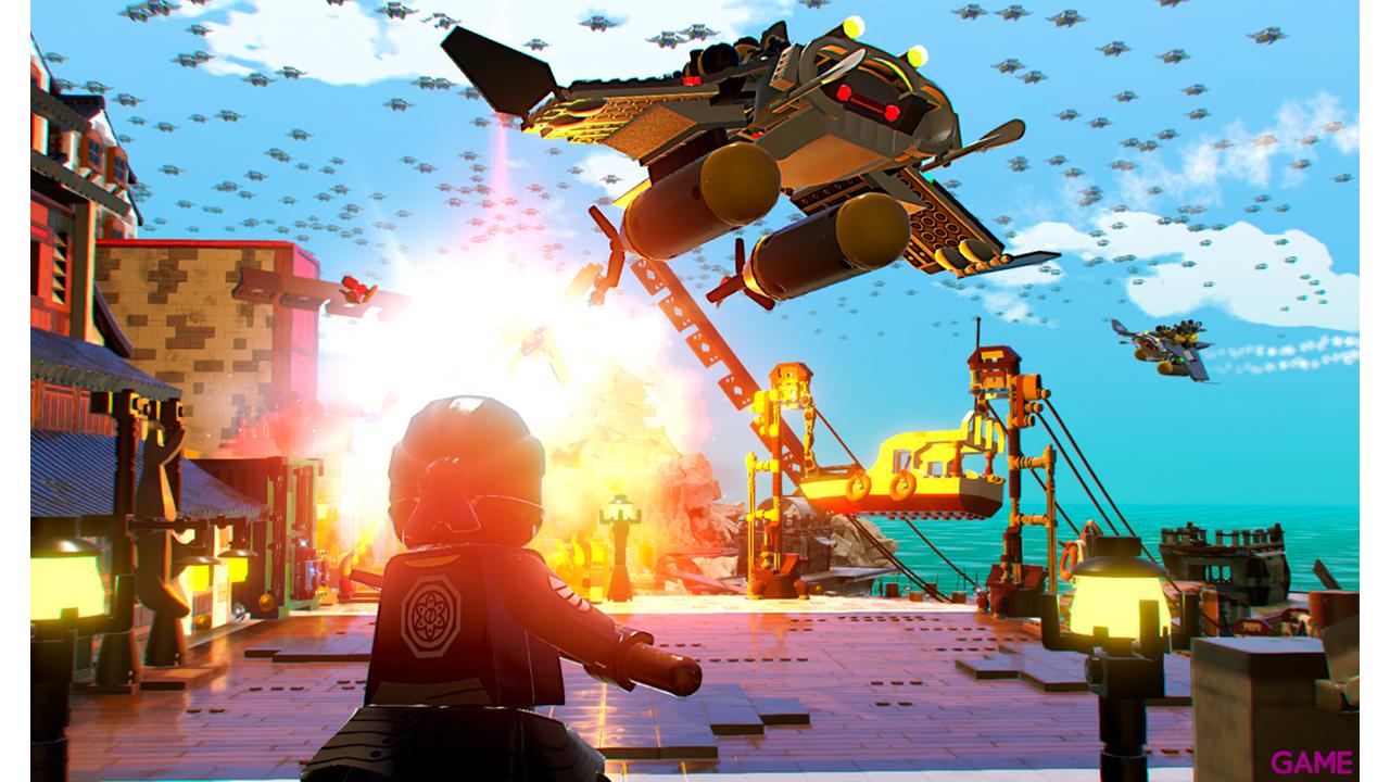 Lego Ninjago Película El Videojuego Code-in-box