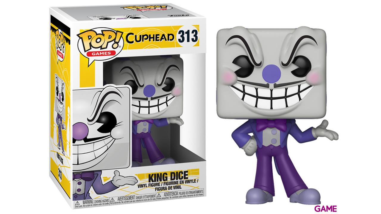 Figura Pop Cuphead: King Dice