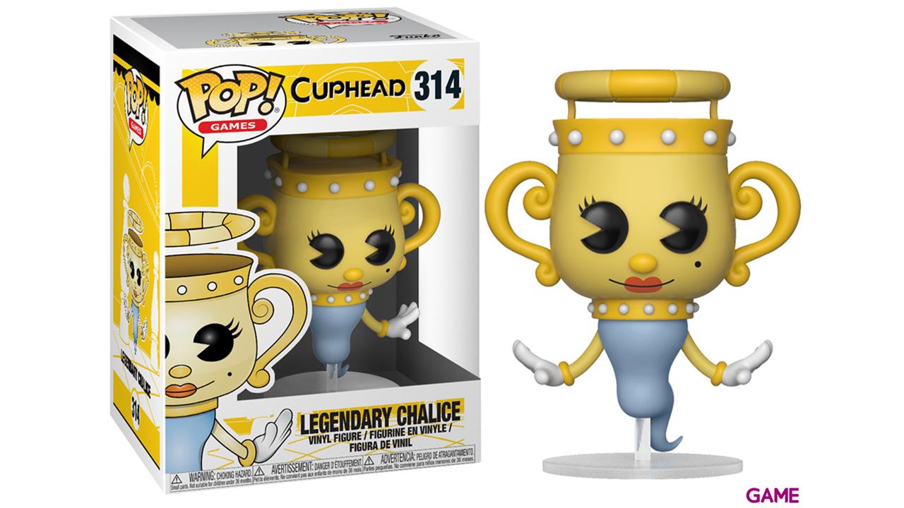 Figura Pop Cuphead: Legendary Ghost